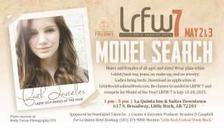 LRFW 2015 Model Search is May 2 & 3