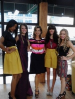 7/4 - LRFW 5 designer Hope Smith and models on GMA