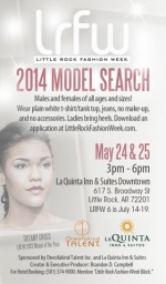 LRFW 2014 model auditions May 24 & 25!